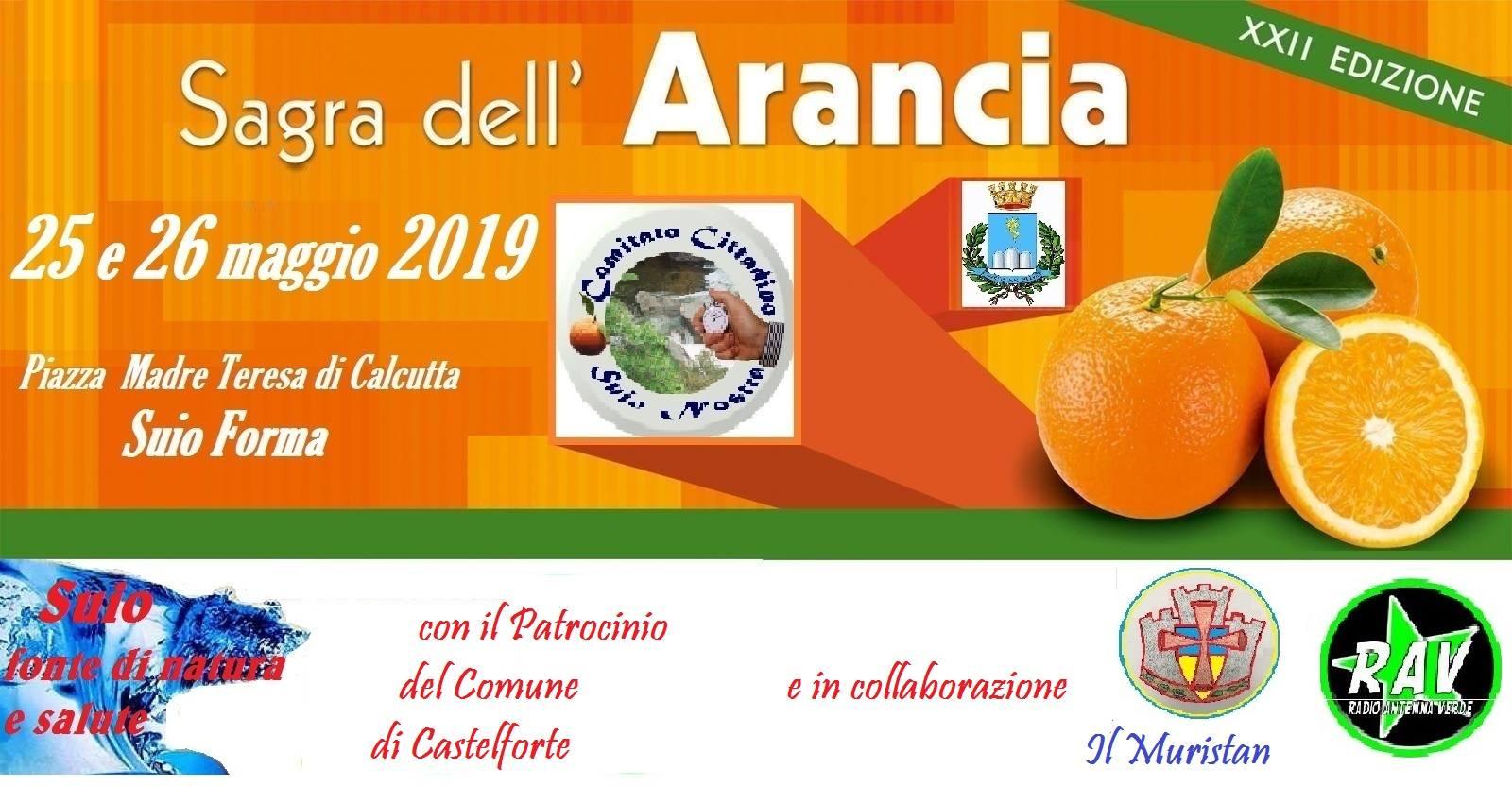 Sagra dell'arancia Castelforte 2019