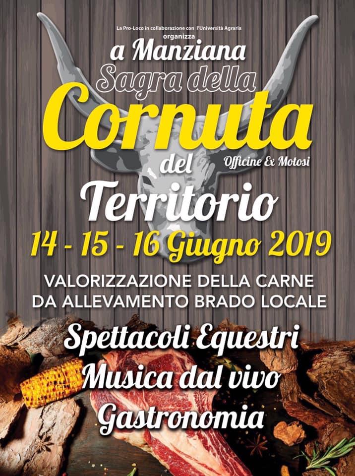 Sagra della cornuta Manziana 2019