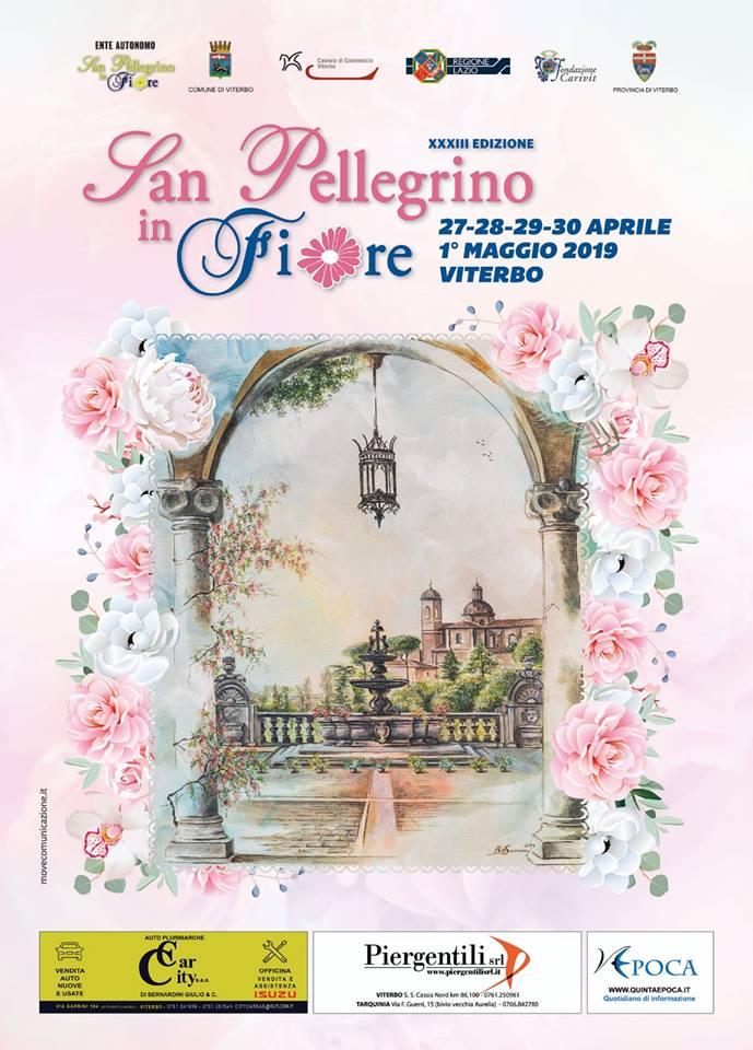 San Pellegrino in fiore 2019 Viterbo