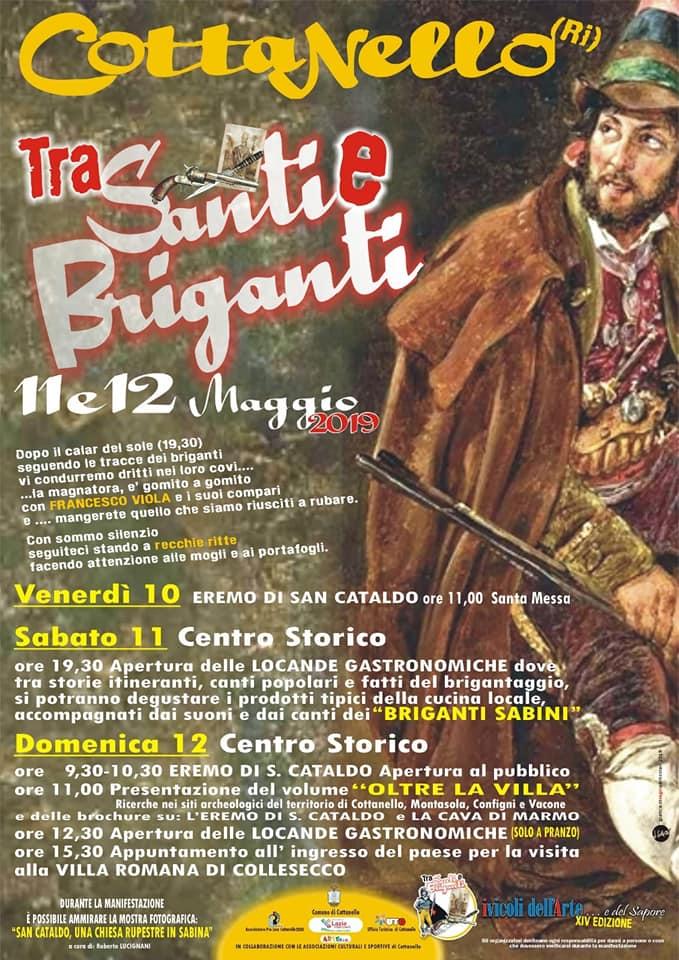Tra Santi e Briganti Cottanello 2019