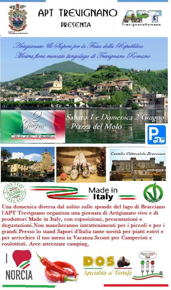 2 giugno 2019 Trevignano Romano