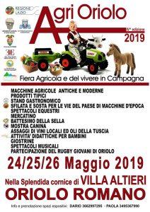 Locandina di Agrioriolo 2019
