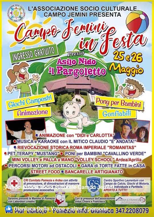 Campo Jemini in Festa Pomezia 2019