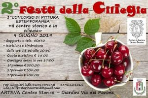 concorso di pittura estemporanea della festa delle ciliegie di Artena 2019
