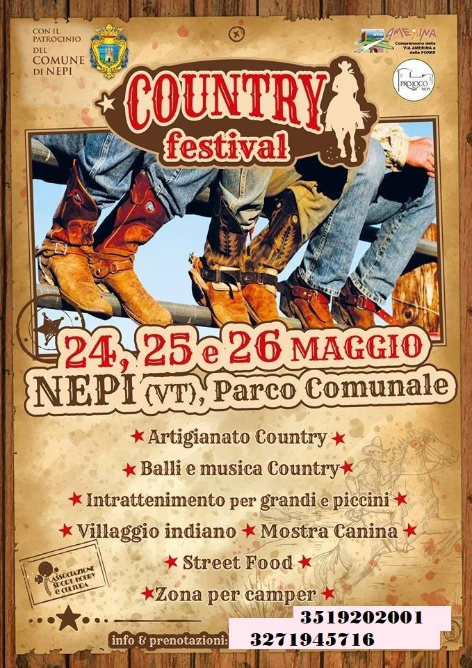 Country festival Nepi 2019