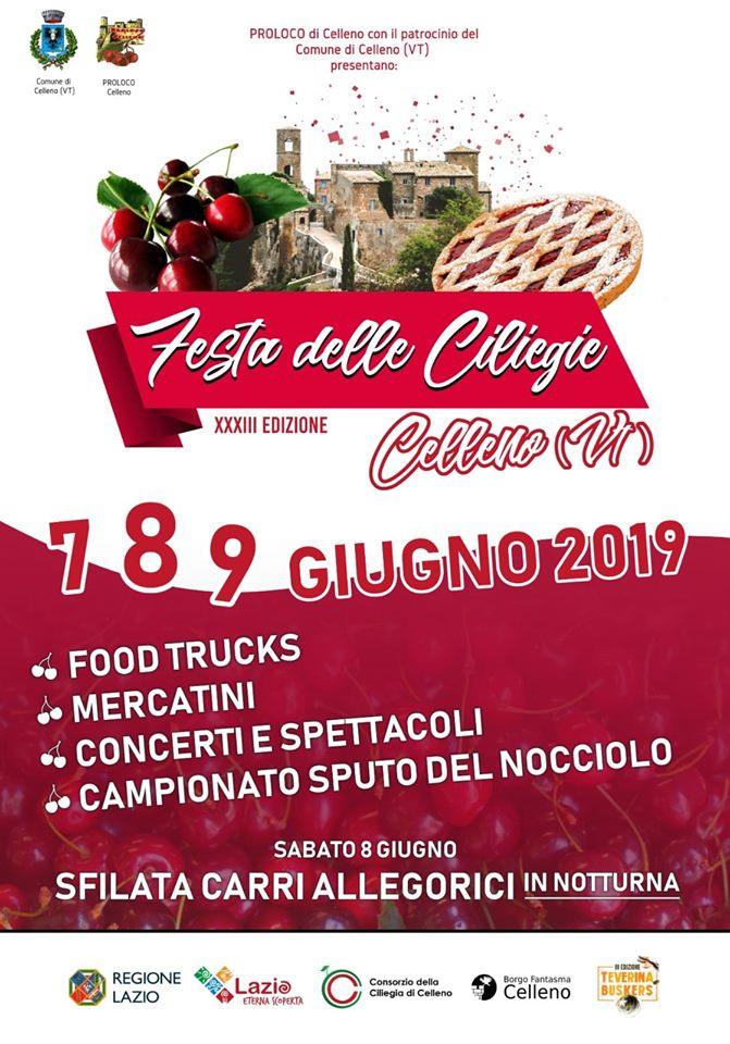 Festa delle ciliegie Celleno 2019