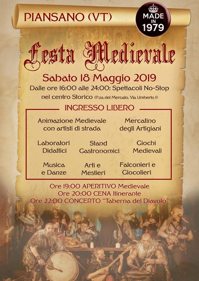 Festa medievale 2019 Piansano (VT)