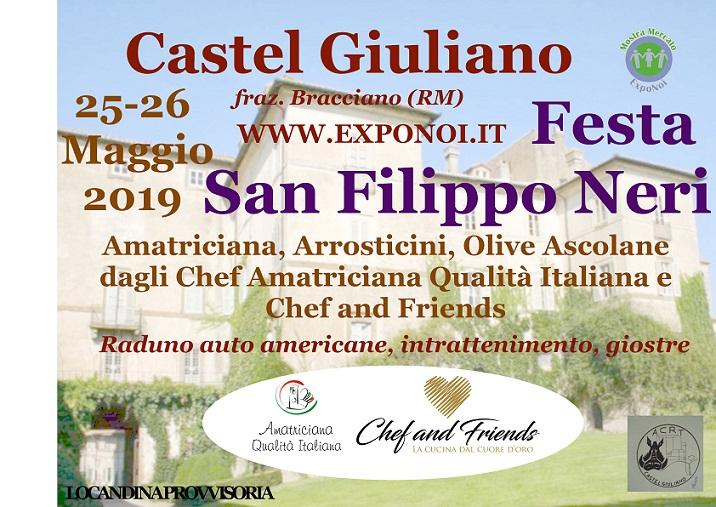 festa di San Filippo Neri Castel Giuliano 2019