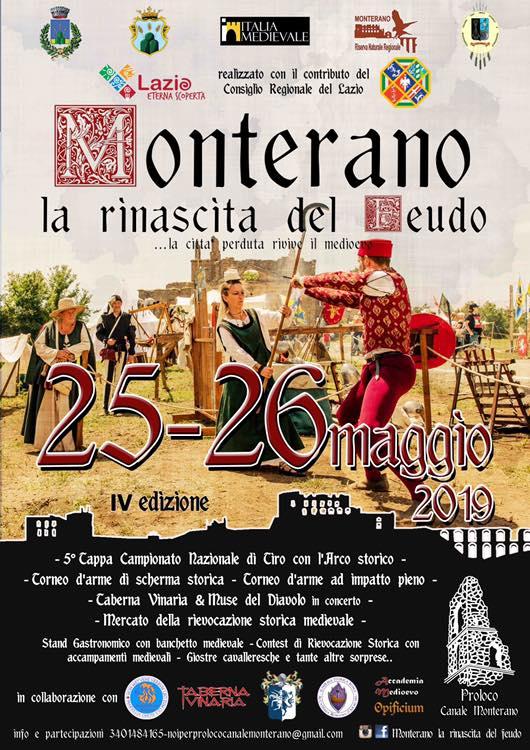 festa medievale a Monterano 2019