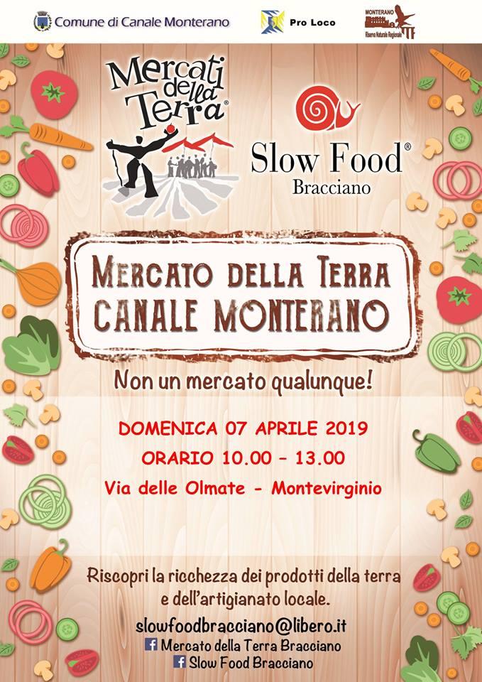 Mercato Slowfood Canale Monterano 2019