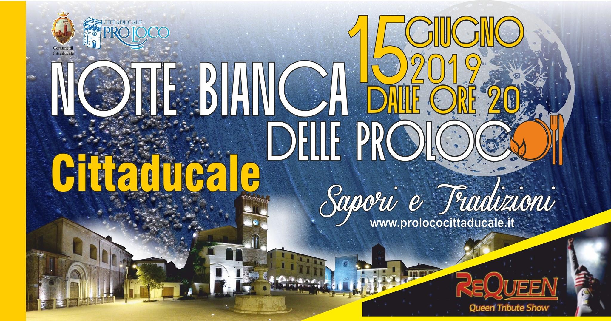 Notte Bianca Cittaducale 2019