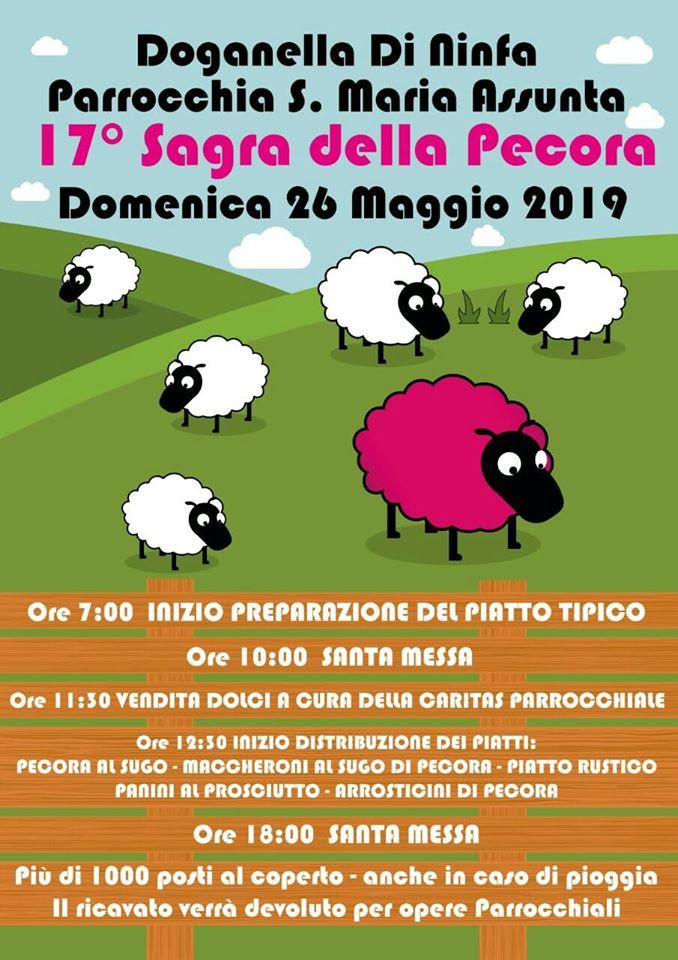 Sagra della Pecora 2019 Doganella di Ninfa (LT)