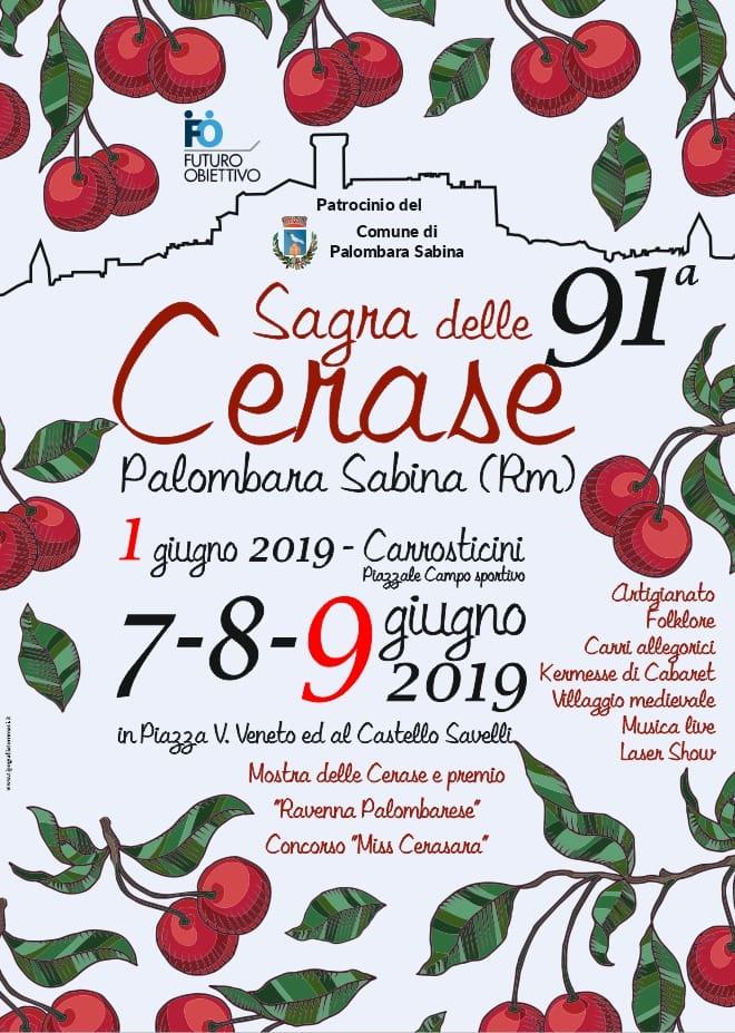 Sagra delle cerase Palombara Sabina 2019