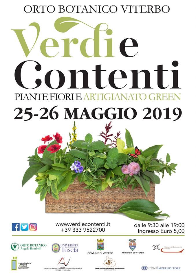fiera piante e fiori Viterbo 2019