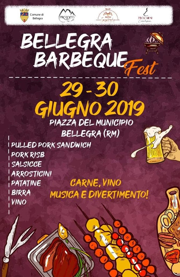Festival del barbeque Bellegra 2019