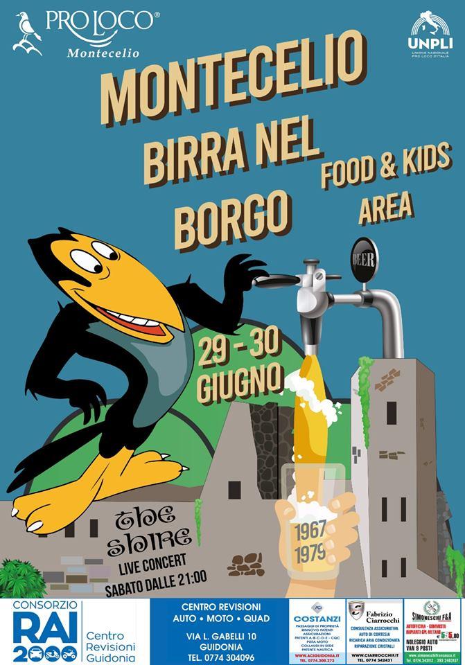 Birra nel borgo Montecelio 2019