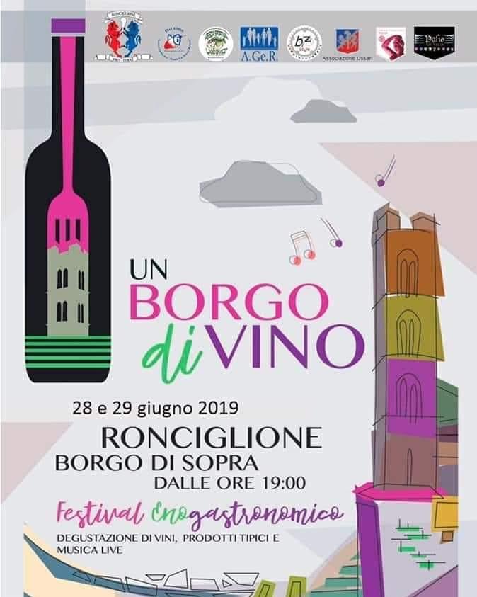 Un Borgo Di-Vino Ronciglione 2019
