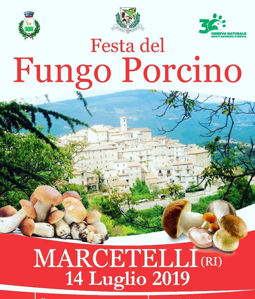 Festa del fungo porcino Marcetelli 2019