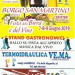 Sagra della birra Borgo San Martino 2019