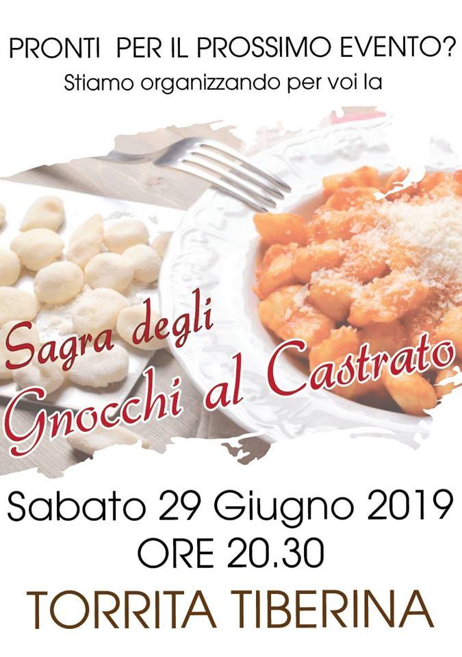 Festa degli gnocchi al castrato Torrita Tiberina 2019