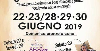 Sagra degli strozzapreti Soriano 2019