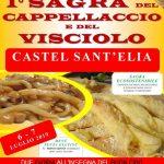 Sagra del cappellaccio Castel Sant'Elia 2019