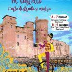 Street art al castello di Santa Severa giugno 2019