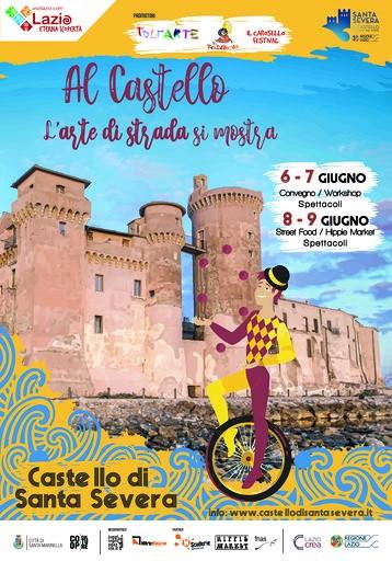 Arte di strada al Castello di Santa Severa (2019)