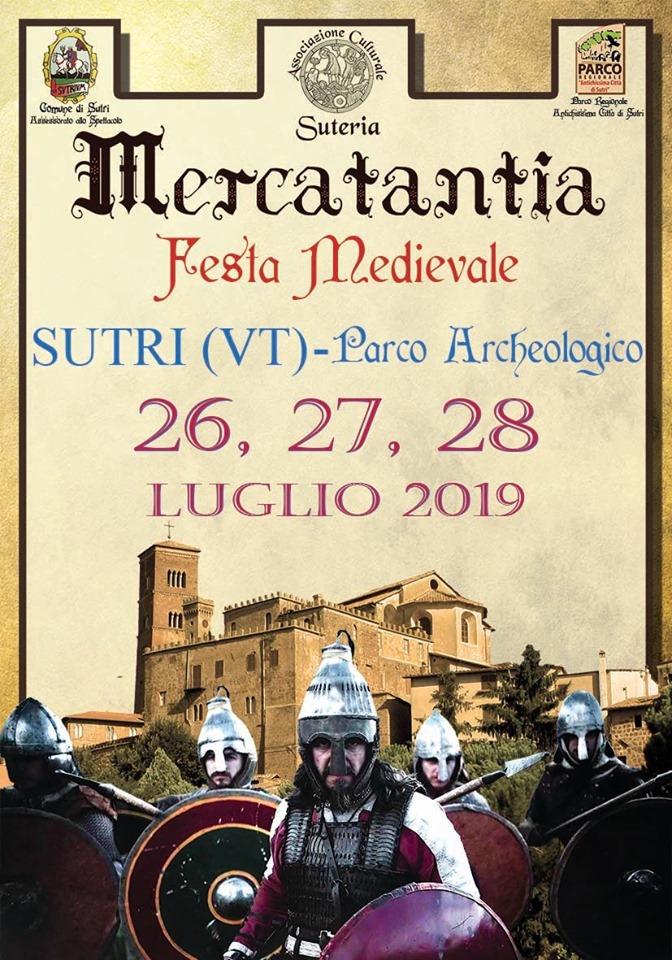 Mercatantia, festa medievale - Sutri 2019