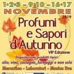 Profumi e sapori d'autunno Trevignano Romano 2019