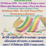 Festa di carnevale 2020 a Serrone
