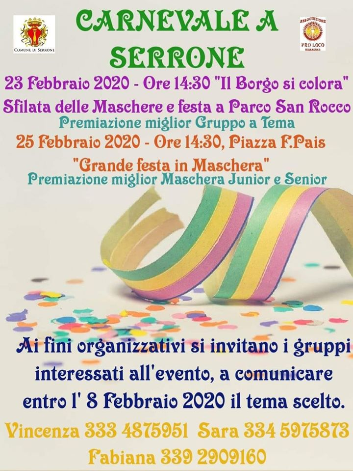 Carnevale 2020 - Serrone (FR)