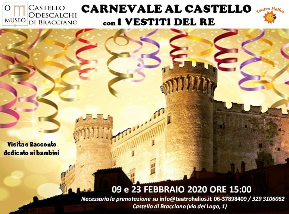 Carnevale 2020 al Castello di Bracciano
