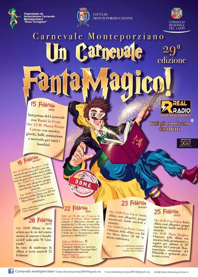 Carnevale Monteporziano 2020 - Monteporzio Catone (RM)
