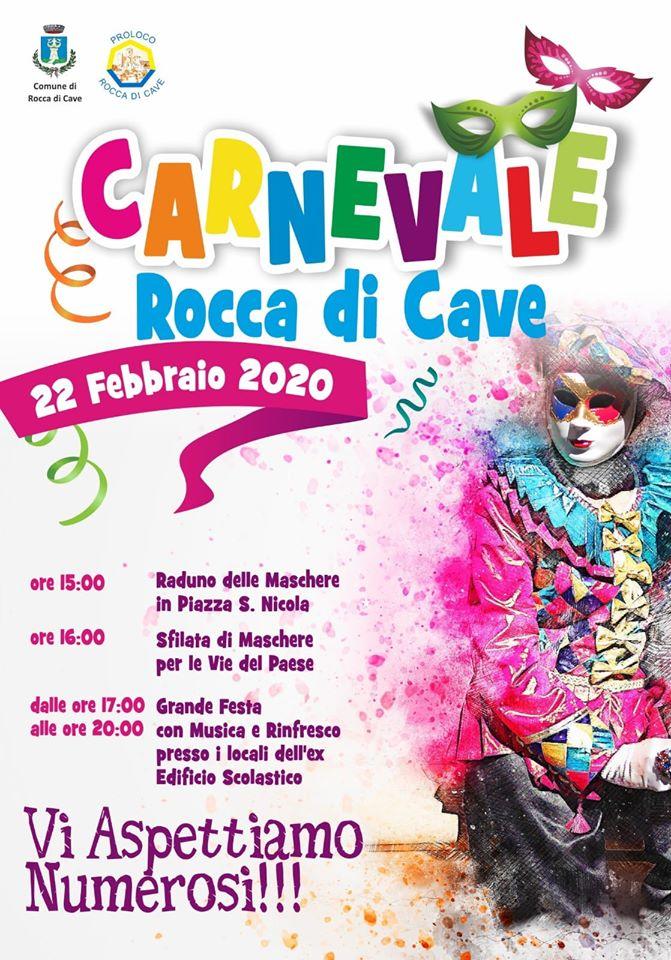 Carnevale Rocca di Cave 2020