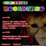 Festa di carnevale a Roccagiovine 2020