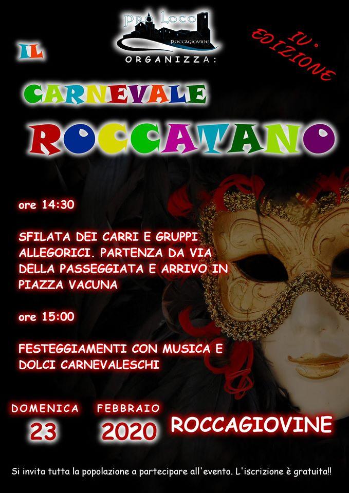 Il carnevale Roccatano 2020