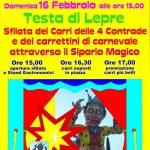 Carnevale 2020 a Testa di Lepre (Fiumicino)