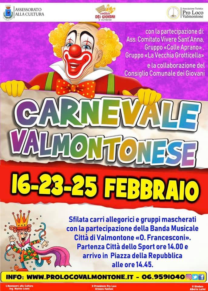 Carnevale Valmontonese 2020 - Valmontone