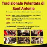 programma della Polentata di Sant'Antonio 2020 a Morolo