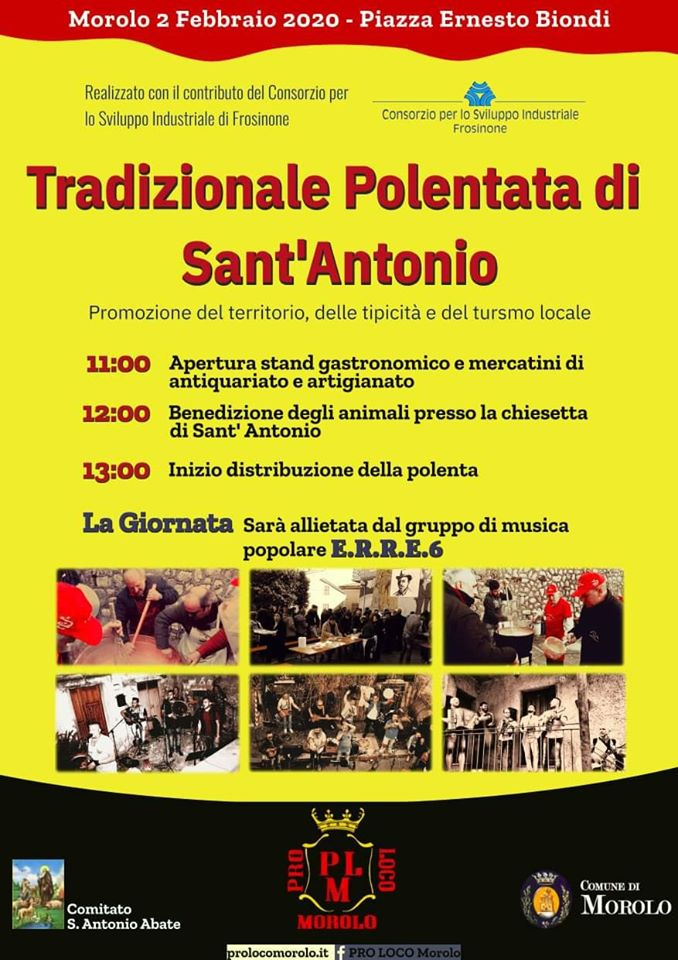Polentata di Sant'Antonio 2020 - Morolo