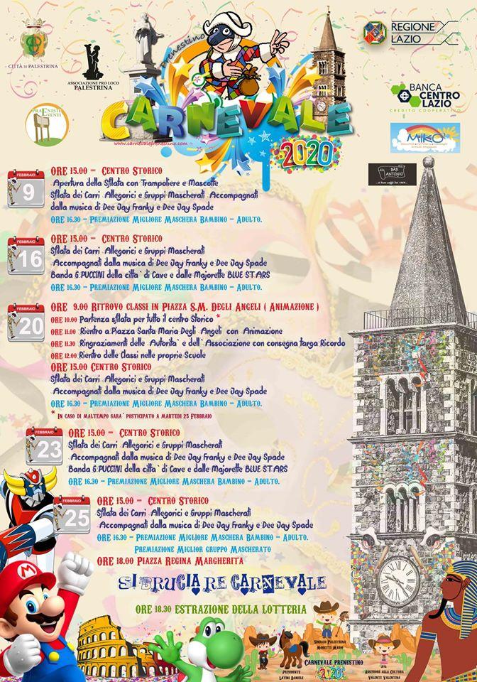 Carnevale 2020 - Palestrina