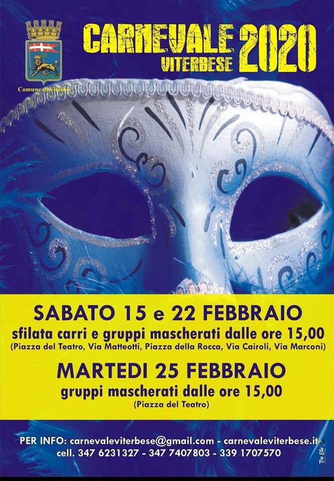 Carnevale Viterbese 2020 - Viterbo
