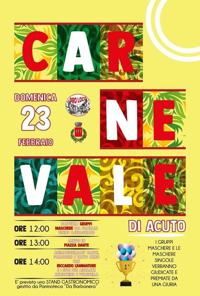 Carnevale 2020 - Acuto (FR)