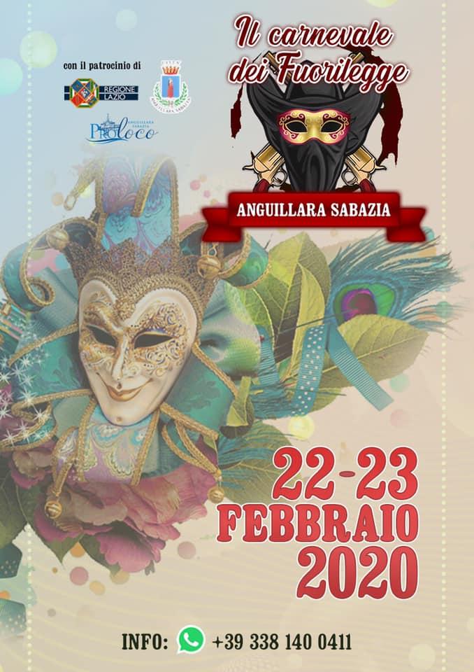 Carnevale dei fuorilegge 2020 - Anguillara Sabazia