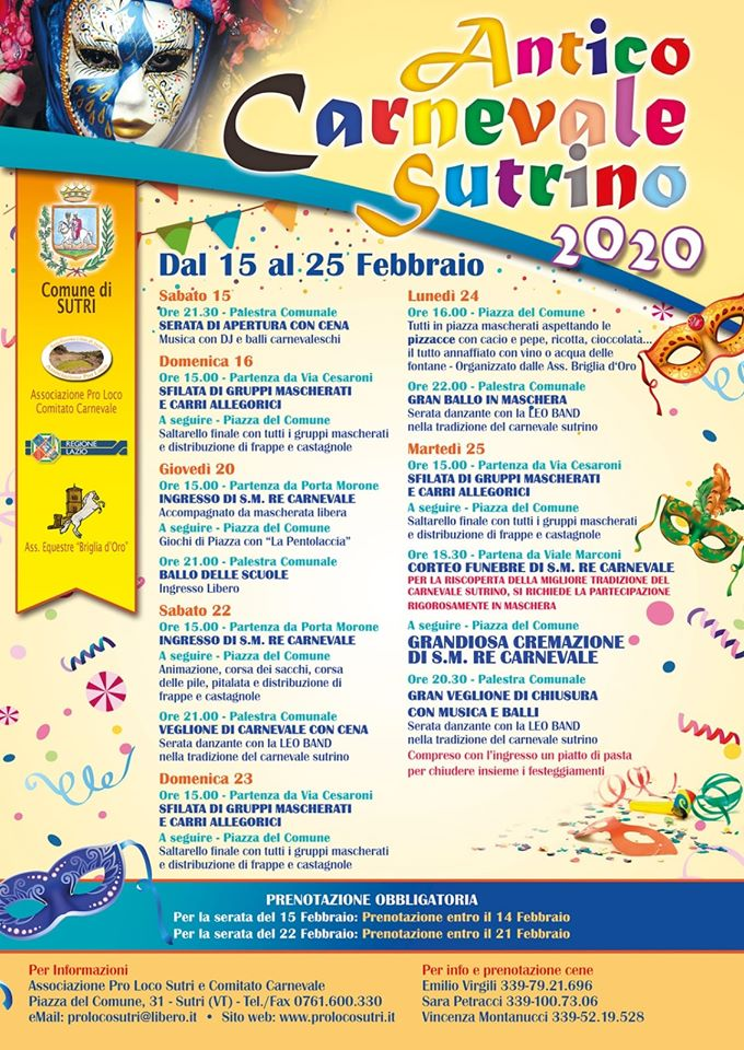 Carnevale 2020 - Sutri (VT)