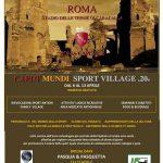 Roma Caput Mundi Sport Village 2020