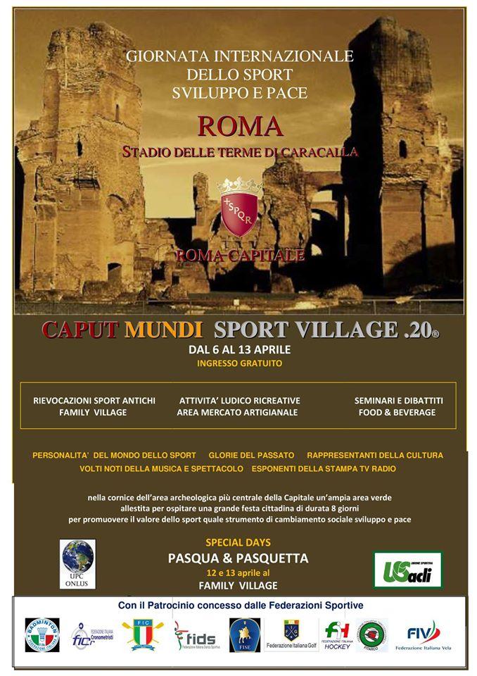Caput Mundi Sport Village 2020