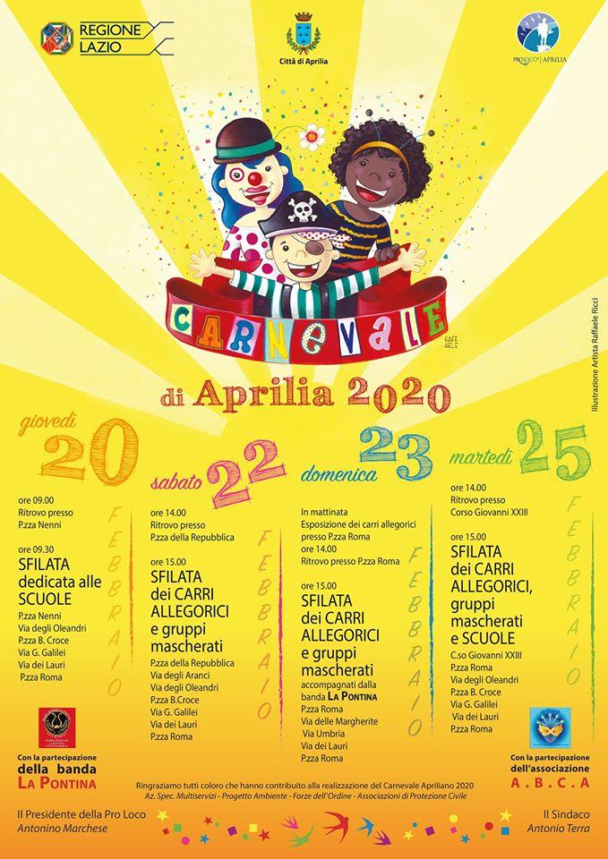 Carnevale 2020 - Aprilia
