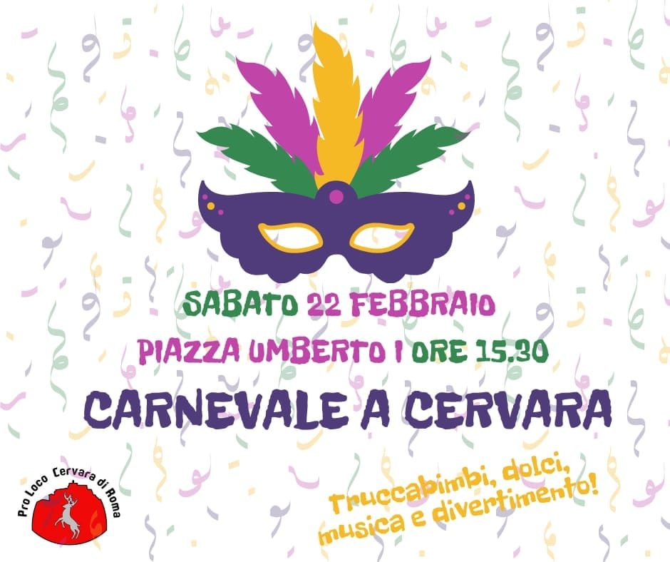 Carnevale 2020 - Cervara (RM)